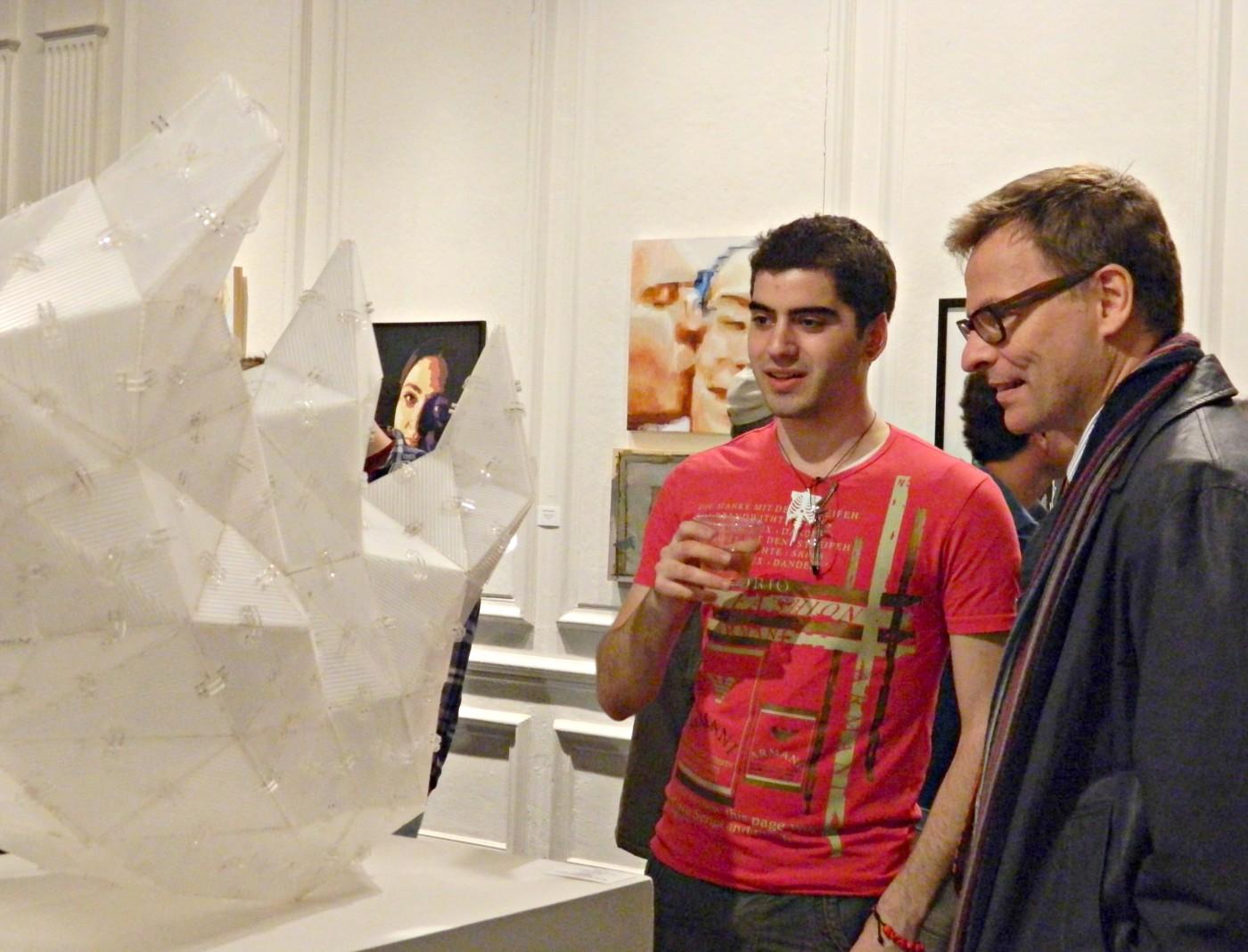Matthias and Paul rhino