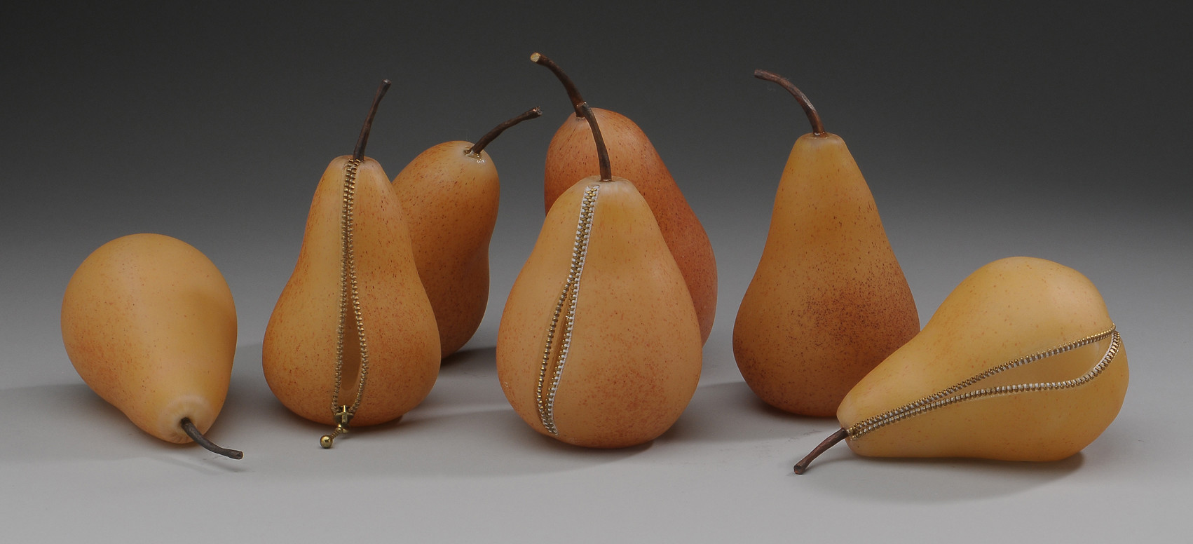 web copy 7 Pears 7 inches high each copy