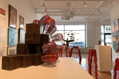 Rachel_Chambers_Steady_Climber_pine_blocks_wood_stain_annealed_and_copper_wire_1322_x_1222_2019_575_3