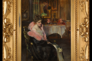 Irving-R.-Wiles-Reverie-1900-oil-on-canvas-31_-x-28_-1973.2