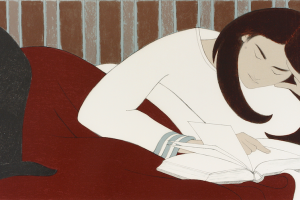 Will-Barnet-The-Reader-1979-lithograph-15_-x-35_-2014.1