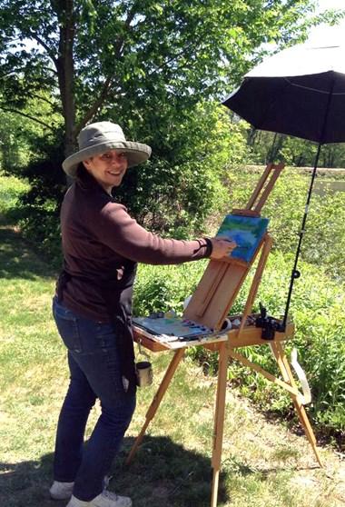 Artist Sue Dion