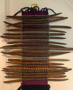 seed pod weaving